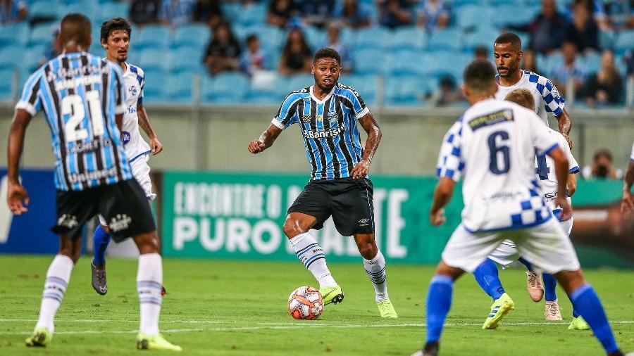 André participa de partida entre Grêmio x São José-RS na Arena - Lucas Uebel/Grêmio