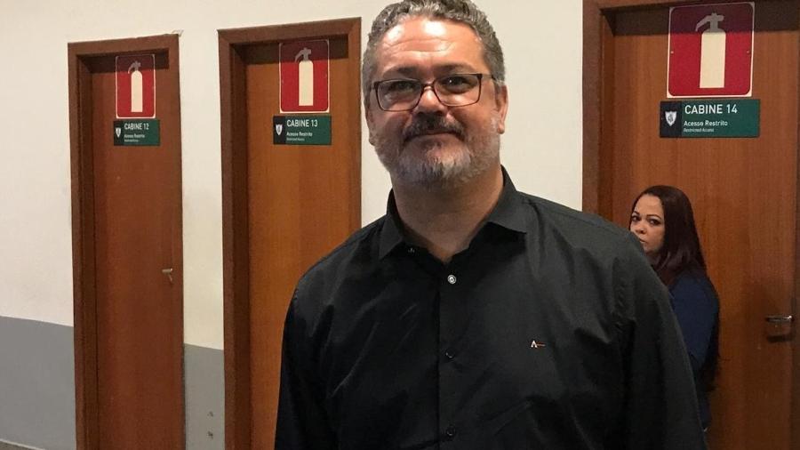 Rogério Micale chega ao Paraná para assinar contrato até dezembro de 2021 - Thiago Fernandes/UOL