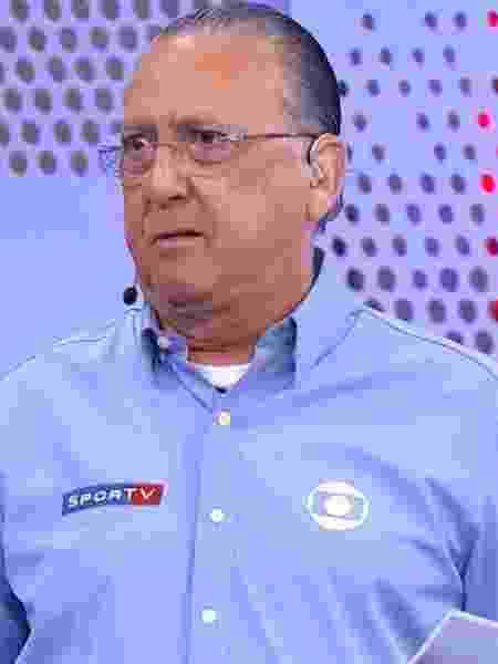Galvão Bueno, narrador do Grupo Globo - Reprodução/TV Globo
