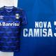 Grêmio lança novo terceiro uniforme na data em que completa 116 anos