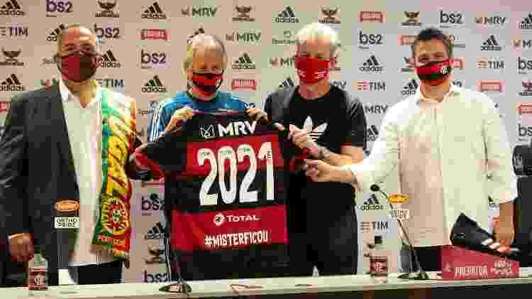 Jesus renovou contrato até junho de 2021 com o Flamengo - Alexandre Vidal / Flamengo - Alexandre Vidal / Flamengo