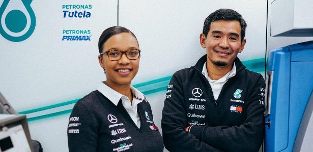 F1: Engenheira africana que subiu ao pódio bateu 7000 inscritos em concurso – UOL Esporte