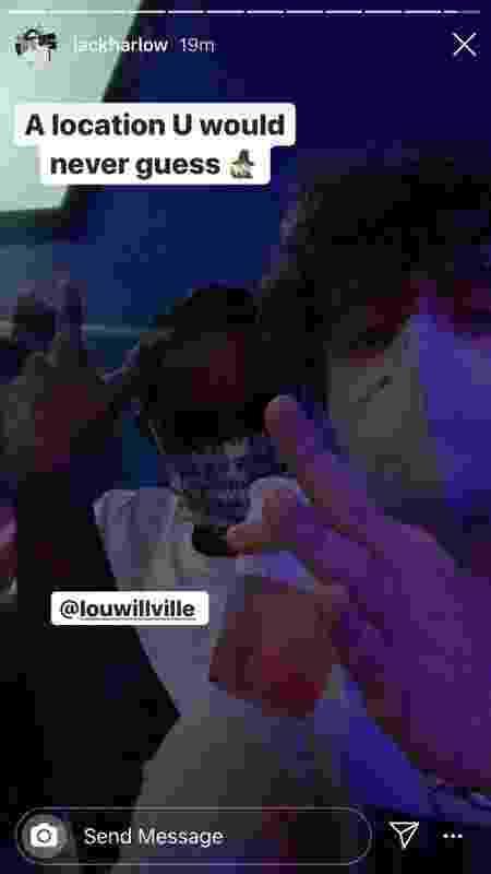 Lou Williams e o rapper Jack Harlow - Reprodução / Instagram - Reprodução / Instagram