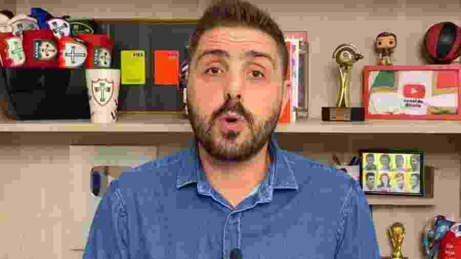 Jornalista relatou em blog no Yahoo discussões internas no elenco palmeirense - Reprodução/Canal do Nicola