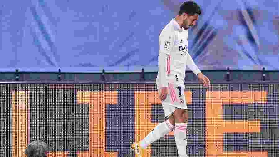 Meia, que vem sofrendo com lesões, deixou jogo entre Real Madrid e Alavés com dores na coxa - Diego Souto/Quality Sport Images/Getty Images