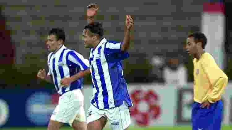 Brasil x Honduras (Copa América de 2001) - Reprodução - Reprodução