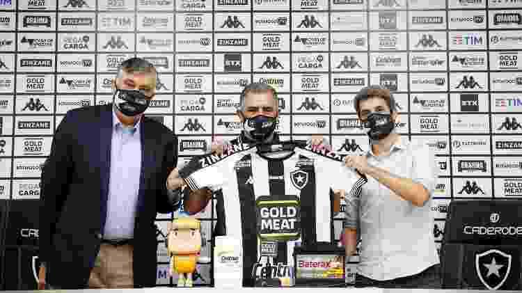 foto - Reprodução Twitter Botafogo - Reprodução Twitter Botafogo