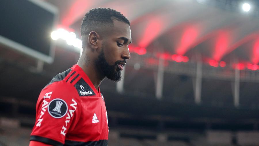 Meia Gerson foi vendido pelo Flamengo para o Olympique em negócio que pode chegar a 30 milhões de euros - Antonio Lacerda-Pool/Getty Images