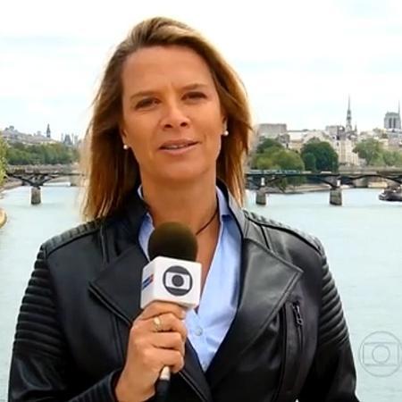 Mariana Becker (repórter da Globo) - Reprodução/Globo