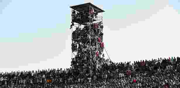 Estádio Nigéria - AFP PHOTO / PIUS UTOMI EKPEI  - AFP PHOTO / PIUS UTOMI EKPEI