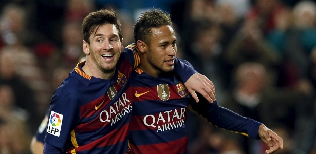 Neymar foi mais um a pedir que Messi não deixe de jogar pela seleção da Argentina