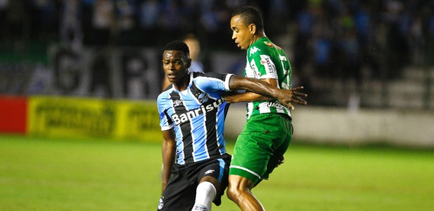 Juventude fez dois gols de bola aérea no mesmo dia que Grêmio perdeu Geromel