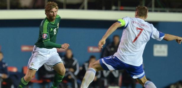 McCourt defende a seleção da Irlanda do Norte desde 2002