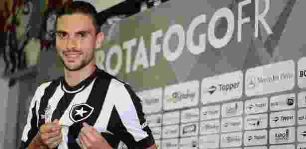 Rodrigo Pimpão espera por boa estreia com a camisa do Botafogo - Vítor Silva/SSPress/Botafogo