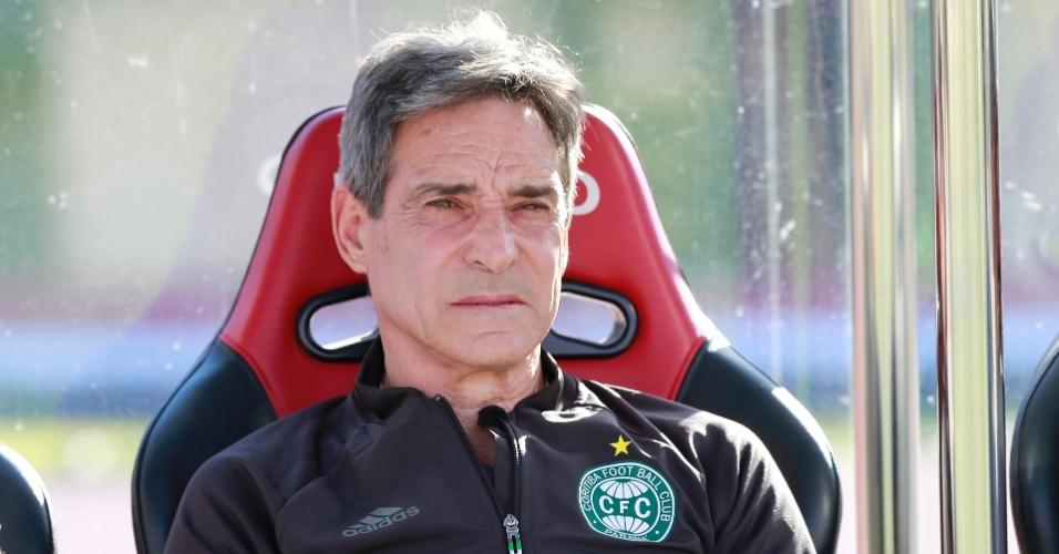 Paulo César Carpegiani, técnico do Coritiba