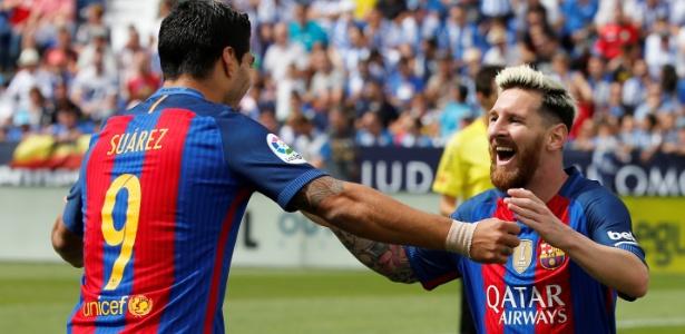 Suárez e Messi são amigos fora de campo - Reuters