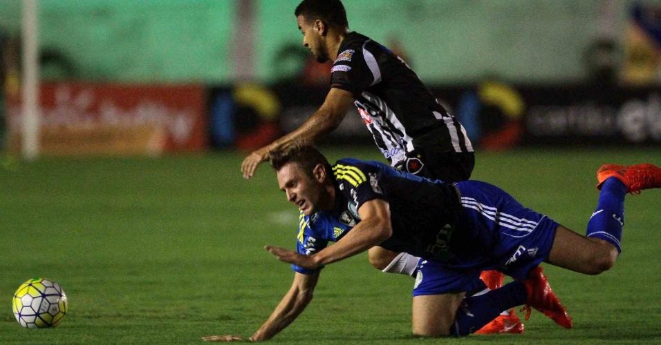 Fabiano, do Palmeiras, tem oportunidade no duelo contra Botafogo-PB