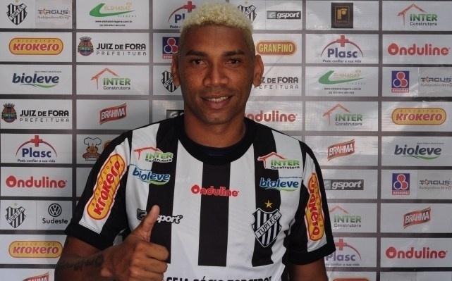 Flávio Caça-Rato, atacante ex-Sport e Santa Cruz, defenderá o Tupi no Campeonato Mineiro