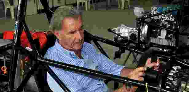 Wilsinho dentro do cockpit de um carro - Divulgação/Fvee - Divulgação/Fvee
