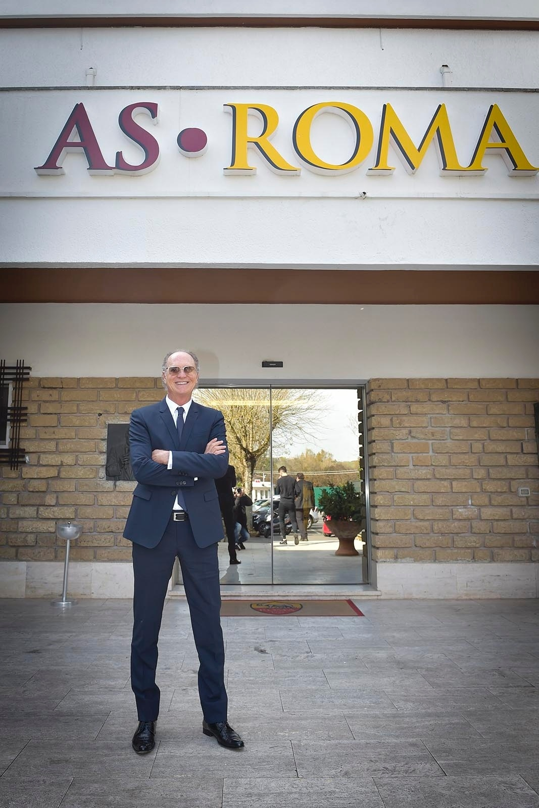 Falcão visita a Roma