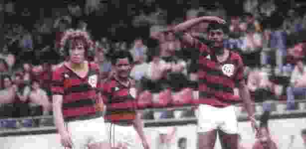Atlético-PR 1983 com Washington e Assis - Reprodução/site oficial Atlético-PR - Reprodução/site oficial Atlético-PR