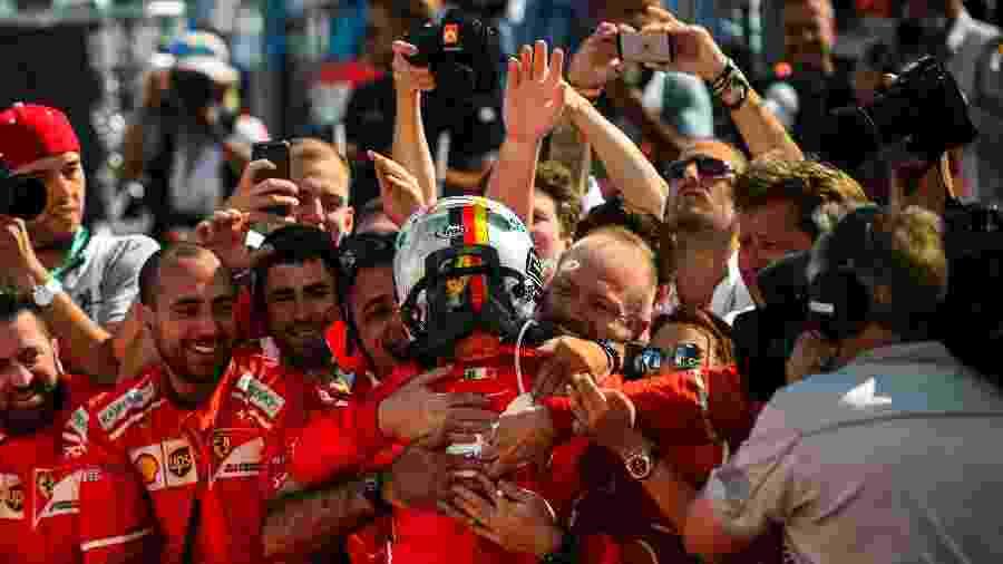 Vettel venceu dois dos últimos 3 GPs da Hungria - Xinhua/Jure Makovec