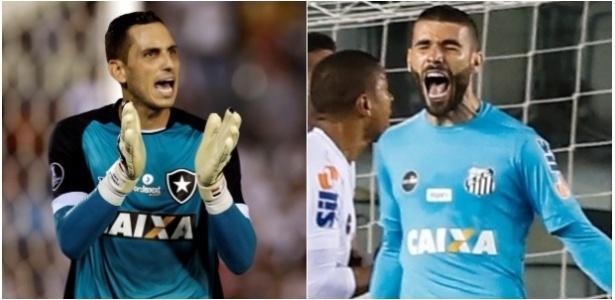 Gatito Fernandez e Vanderlei são armas de Botafogo e Santos para duelo deste sábado