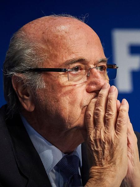 Ex-presidente da Fifa, Joseph Blatter comandava a entidade quando do anúncio de Qatar-2022 - Michael Buholzer/AFP