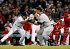 Briga interrompe partida de maior rivalidade do beisebol dos EUA: veja - Winslow Townson-USA TODAY Sports