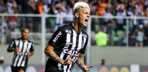Em alta no Atlético, Guedes é o atual artilheiro do Brasileirão, com seis gols marcados