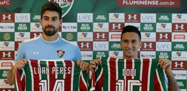 Dupla de reforços é apresentada pelo Fluminense - Lucas Merçon