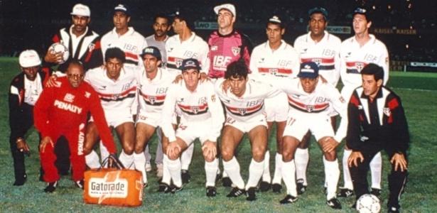 Equipe do São Paulo campeã da Copa Libertadores de 1992