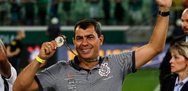 Fábio Carille conquistou três títulos em 17 meses de trabalho à frente do Corinthians - Rodrigo Gazzanel / Ag. Corinthians