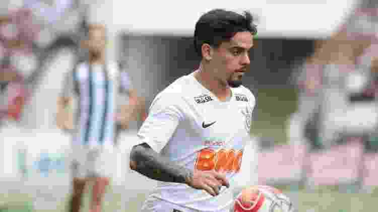 Fágner em clássico entre Corinthians e Santos - Marcello Zambrana/AGIF - Marcello Zambrana/AGIF