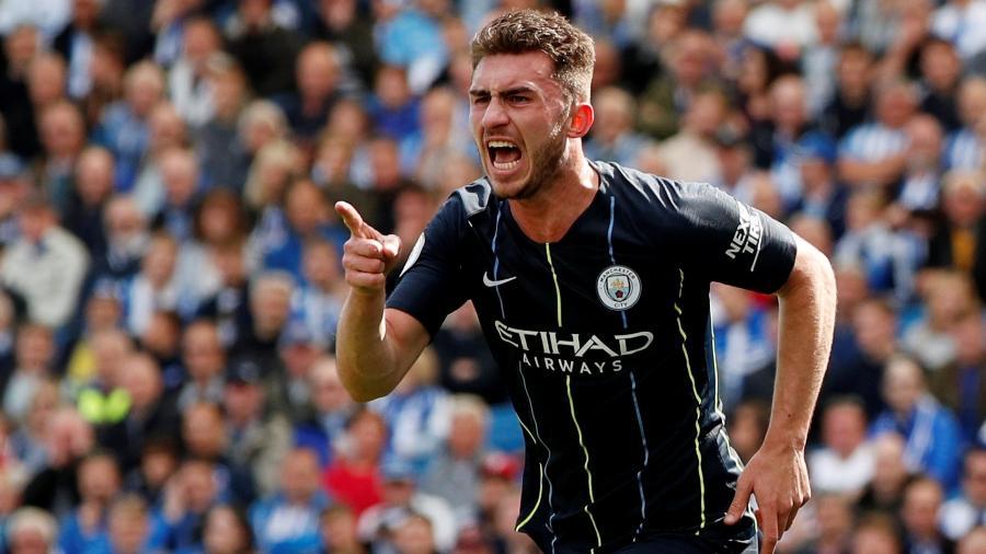 Laporte, zagueiro do Manchester City - John Sibley/Reuters