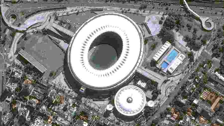 Estádio do Maracanã - Rio de Janeiro - Pléiades, © Cnes, Distribuição Airbus DS