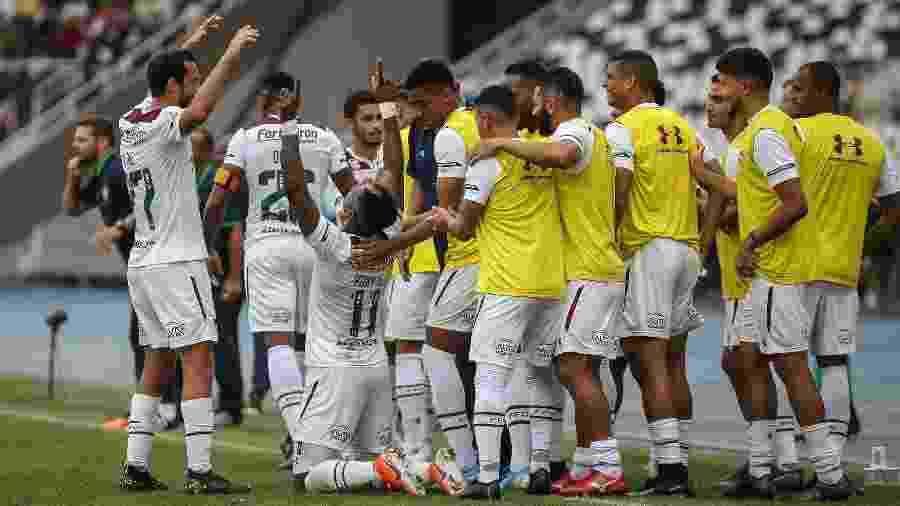 Embalado, Fluminense enfrenta o Cruzeiro no Mineirão - Lucas Merçon / Fluminense FC