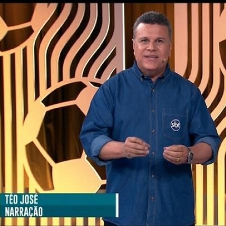 Téo José narrou o Fla-Flu decisivo de 2020 pelo SBT - Reprodução