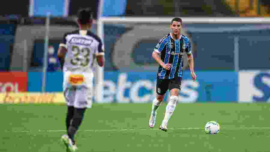 Thiago Neves em ação pelo Grêmio na derrota para o Sport - Lucas Uebel/Grêmio