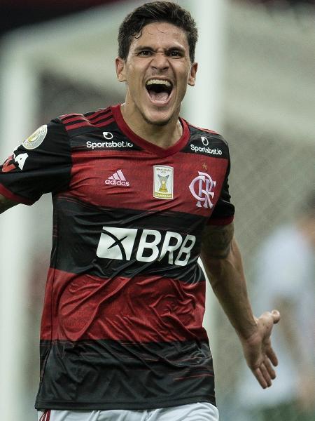 Pedro, atacante do Flamengo: em alta e na mira de Tite e da seleção brasileira - Jorge Rodrigues/Jorge Rodrigues/AGIF