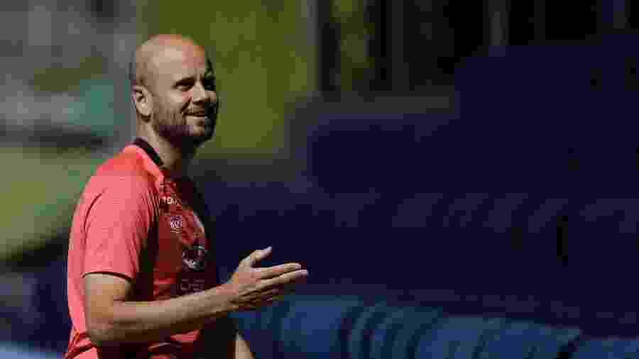 Miguel Angel Ramirez, técnico do Independiente del Valle - Agencia Press South/Getty Images