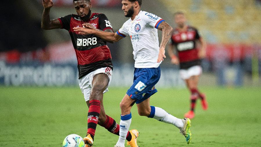 Flamengo e Bahia se enfrentam no Maracanã em jogo do Brasileirão - Jorge Rodrigues/AGIF