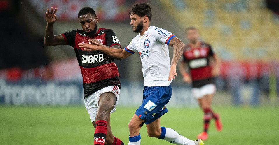 Flamengo e Bahia se enfrentam no Maracanã em jogo do Brasileirão