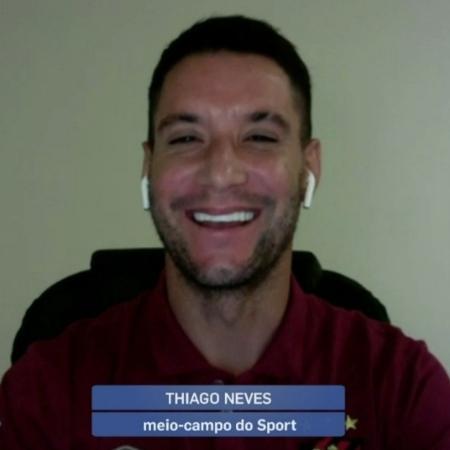 Thiago Neves diz que se arrepende de provocações ao Atlético-MG - Reprodução/SporTV