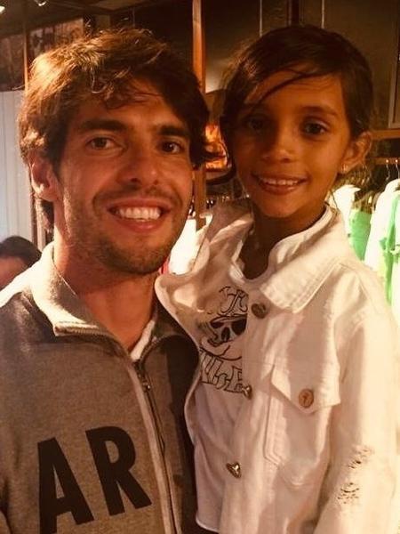 Kaká posta foto com Rayssa Leal - Reprodução