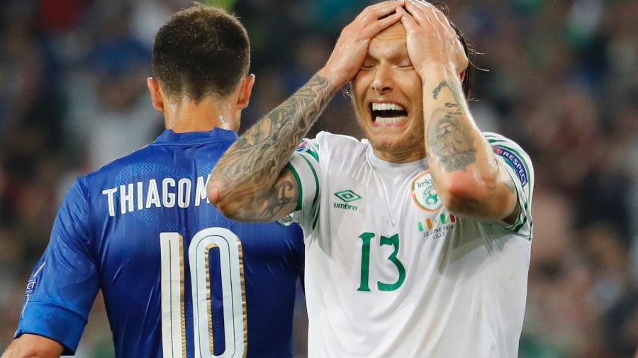 Hendrick defende a seleção da Irlanda e o Burnley, da Inglaterra. Jogador é alvo do Milan - Pascal Rossignol/Reuters