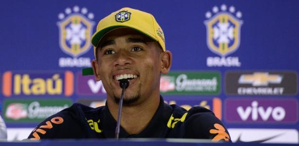 Gabriel Jesus marcou dois belos gols em sua estreia pela seleção brasileira principal