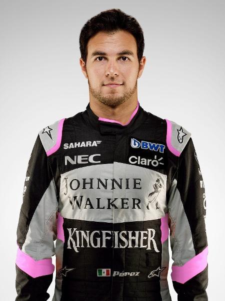 Equipe ainda não anunciou quem será o companheiro do mexicano, que chegou após temporada 2013 na McLaren - Divulgação/F1