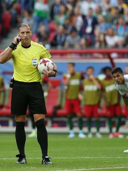 Néstor Pitana, destaque na Copa de 2018, será o árbitro de São Paulo x Palmeiras - EFE/EPA/MARIO CRUZ