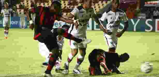 Titular diante do Fortaleza, Vinícius Paquetá marcou o gol da vitória por 1 a 0 - Honório Moreira/Moto Club - Honório Moreira/Moto Club